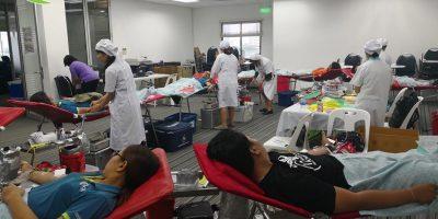 Group Lease Blood Donation CSR activity